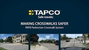 Rrfb Lights Rectangular Rapid Flashing Beacon Driver Awareness Tapco