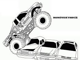 Monster Truck Coloring Pages Free Printables Pictures To Color