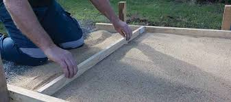 levelling base sand for pavers