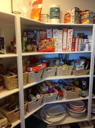 eye level pantry organization