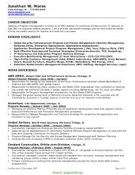 Complex Manager Resume Objectives Examples Marketing Resume