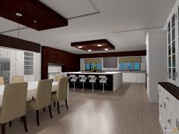 kitchen lounge designs dining room open plan house ideas