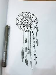 Pictures Of Dream Catchers To Draw Dream catcher image 100 by taraa on Favim 95
