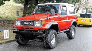 1984 Toyota Land Cruiser 70 FRP Top (USA Import) Japan Auction ...