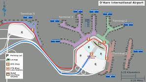 fileo'hare airport mappng  wikimedia commons