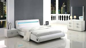 Marvelous Modern White Leather Bedroom Furniture Deals Us Stores ...