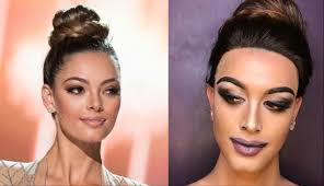 look paolo ballesteros transforms into miss universe 2017 demi leigh nel peters
