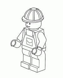 Lego City Undercover Chase Mccain Coloring Pages Sketch