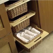 wicker basket cabinet. Fine Cabinet PullOut Wicker Storage Baskets For Kitchen Cabinet Throughout Basket A