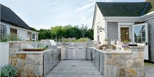 Outside Kitchen Modular Outdoor Kitchens Design Sets Ifidacom Modern Kitchen