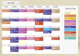 event calendar web calendar software with online event registration tendenci