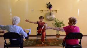 chair yoga for seniors. actively aging with energizing chair yoga - seniors get moving! youtube for i