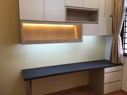 office table lights. Study Table With Book Cabinet And Display LED Light Home-office Office Lights