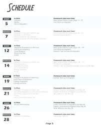 Free Syllabus Template Creative Templates Printable For