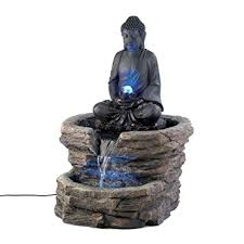 Small Picture Amazoncom Zen Serenity Buddha Home Decor Electric Water Fountain