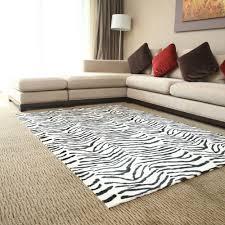 Zebra Print Living Room Animal Print Carpet For Livingroom Carpets Inspirations Tips