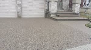 Flooring Kitchener Exposed Aggregate Concrete Driveway Driveway Paving Kitchener