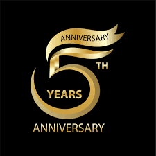 Design Th 5th Anniversary Free Vector Art 8 Free Downloads