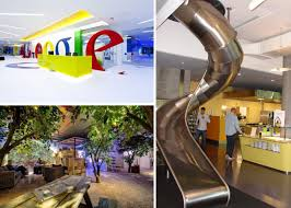 google office. High-tech Corporate Interior Design, Google Office