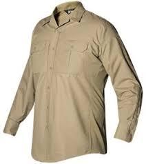 Vertx Mens Phantom Lt Long Sleeve Shirt Desert Tan Medium Long