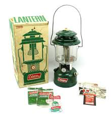 Coleman Vintage Two Mantle Green 14 Camping Lantern 220h195