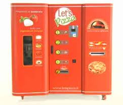 Vending Machine Pizza Maker Enchanting Robot Pizza Maker