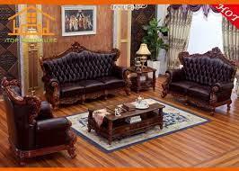 furniture sofa simple wooden sofa set
