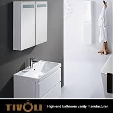custom high end bathroom vanity sets with shaving cabinets tv 0428