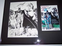 bob layton batman dark knight of the round table issue 2 back cover comic art