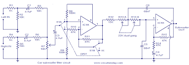 filter schematic diagram wiring diagram libraries subwoofer filter circuit diagram wiring diagramscar subwoofer filter electronic circuits and diagrams electronic klipsch promedia 2