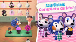 Able Sister & Designing Complete Guide in Animal Crossing New Horizons -  YouTube