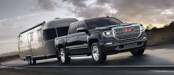 2018 gmc pickup truck. exellent pickup exterior image of the 2018 gmc sierra 1500 denali premium pickup truck  towing an airstream trailer on gmc r