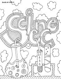 Science Pictures To Colour Lab Coloring Pages High School Kids