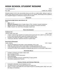 Resume Format For College Student Resume Format Examples For