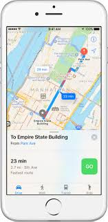 apple maps no alternative routes  official apple support
