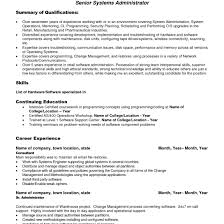 Linux Resume Template Citrix Administration Sample Resume 24 Linux System Administrator 9