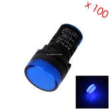 220v Pilot Light Details About 100x Blue Pilot Lamp Indicator Light Ad16 22d S 220v 20ma Led Z2923