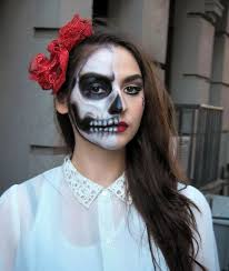 you skeleton creative makeup pretty squared skull makeup tutorial pretty skull makeup