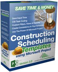 Microsoft Project Construction Scheduling Template Features Using Microsoft Project For Your Construction Projects