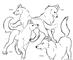 Small Picture Wolf Coloring Pages Coloring Coloring Pages