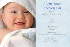 Baby Announcement Cards 50 Personalised Baby Thank You Cards Baby Announcement Cards Boy Ref Fpb Free P P