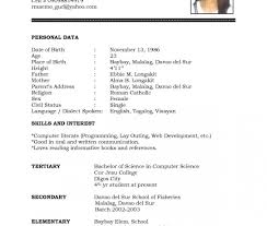 Resume Templaterd Download Malaysia Cv South Africa Gratis Free With