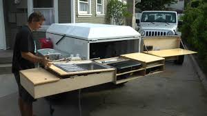 Camper Trailer Kitchen Designs Dominion Offroad Trailer Kitchen Youtube