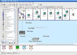 Компьютерные сети dipcurs Вид окна пакета имитационного моделирования netcracker professional 4 0