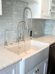 farmhouse sink faucet. Perfect Farmhouse Farmhouse Sink And Commercialgrade Faucet Inside Sink Faucet O
