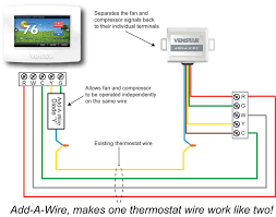 hvac problem solver HVAC Thermostat Wiring Diagram add a wire diagram
