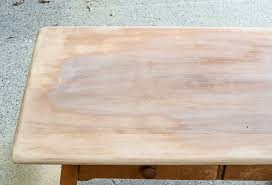 refinish a solid wood table