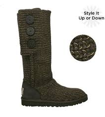 ... discount store online ugg classic cardy s n 1876 metallic knit women  brown boots e0360 93d2f clearance product name ugg 5359 grey nightfall ...