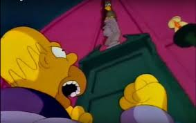 Mesmerized By Simpsons Treehouse Of Horror XXIV Couch Gag Simpsons Treehouse Of Horror Raven