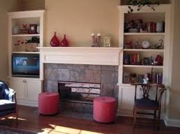 built in bookcases around fireplace built in cabinets fishers more decorating bookshelves beside fireplace built in